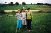 1989, Ivan M. Havel s manželkou Dagmar, Markéta Goetz-Stankiewiczová