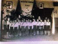 Foto ze školních let (pod Stalinem a Gottwaldem)