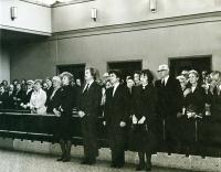 1979 pohřeb Václava Havla, otce pamětníka