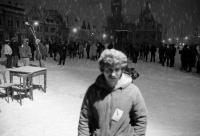 Míting počas novembra 1989 v Bardejove