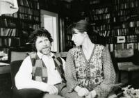 Manželé Havlovi, Praha 1986