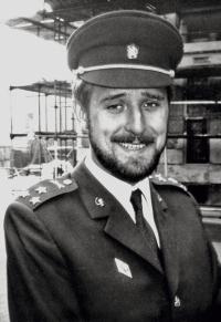 Václav Bruna po promoci v Karolinu (1973)