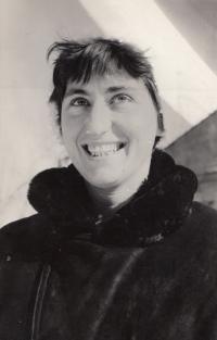 Jitka Bubeníková, 1956.