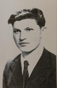 Bratranec Bohumír Benda, který zahynul po zásahu granátem na konci války v Moravičanech