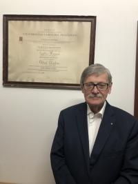 Oldřich Choděra v roce 2019