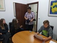 Projekt Příběhy našich sousedů - příprava na natáčení