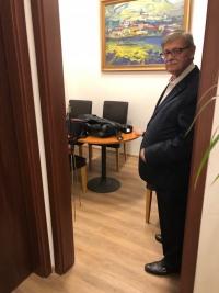 Ve své kanceláři, 2019