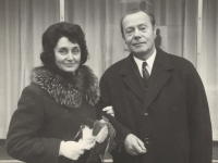 Eva a Karel Štanclovi, 1971