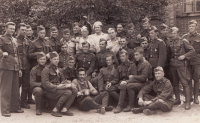 Josef Černý (otec pamětníka) v prvorepublikové armádě