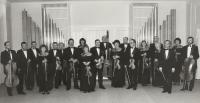Komorní orchestr J. Kociana Ústí nad Orlicí, 1989, Karel Štancl uprostřed vzadu vpravo