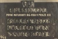 Maturitní tablo, 1943