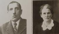 Prarodiče František a Anna Martincovi