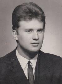 Miloslav Kořínek v době dokončení vysokoškolského studia