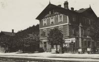 Nádraží v Ústí nad Orlicí ve 30. letech