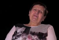 Anna Foglová při natáčení rozhovoru r. 2020