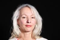 Miriam Prokopová při natáčení rozhovoru v roce 2020