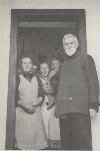 Josef Florian s rodinou