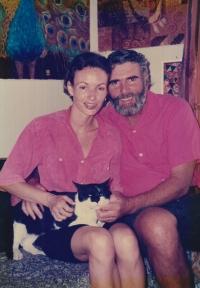 Roku 1990 odjeli Miriam a Jiří Prokopovi do Izraele, kde žili příštích šest let