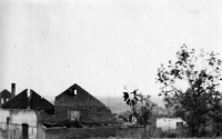 Jeden z objektů Bártova hospodářství po 2. světové válce