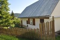 Obnovený dom babky Korbeľovej v Hornej Strednej