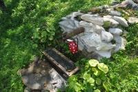 Jeden zo zdrojov vody v osade Horná Stredná. Bez vody by tam nebol možný život