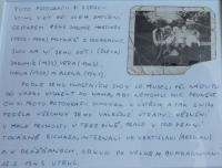 Fotografie dětí, kterou u sebe ve vězení ukrýval otec pamětníka Jaromír Martinec