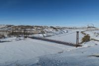 Rudnik, kde bolo veliteľstvo Vorkutlagu, na snímke z roku 2016
