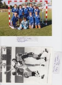 Hádzanárka Mária Labayová, momenty zo zápasu v roku 1987