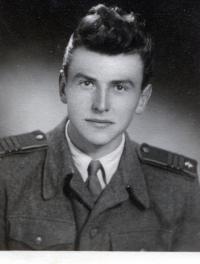 Albín Jankulík ako vojak
