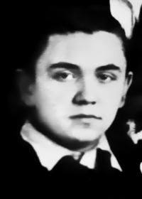Leonid Dohovič na snímke počas svojich školských rokov, zrejme krátko po druhej svetovej vojne