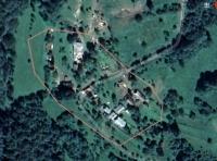 Satelitná snímka osady Horná Stredná