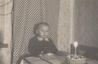 První narozeniny pamětníka, 1955