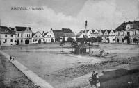 Náměstí v Mirovicích; 1921