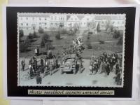 Američané přijeli do Mirovic; 9. května 1945