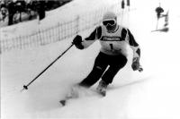 Olga Charvátová na závodech v sezoně 1985/86