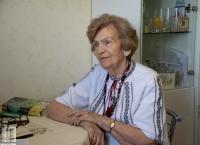 Rostyslava Fedak během natáčení ve Lvově v roce 2020