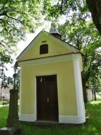 Kaplička v Boješicích z roku 1856