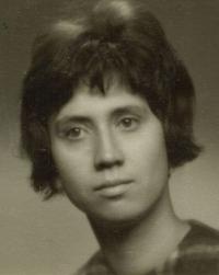 Dobový portrét Evy, Praha 1964