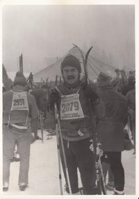 František na Jizerské padesátce, 1982