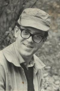 Archi Galle, manžel pamětnice, asi 1970