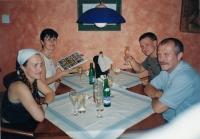 Poslední rodinná fotografie, před Františkovou smrtí, 2000
