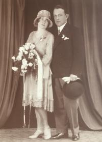 Svatební foto Heindlových
