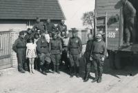 1945, květen, Rudá armáda v Olovnici