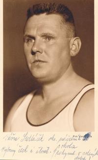 Vavřinec Sedláček, okr. náčelník Sokola, nevrátil se z internace v solných dolech 1942