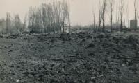 Nálety v Kralupech 1945