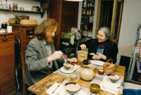 Jůzovi doma v kuchyni v Třebonicích