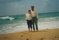Jiří a Miriam Prokopovi v Izraeli, rok 1996