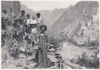 Fotografie obyvatel Jemenu pořízená při zdravotnické misi