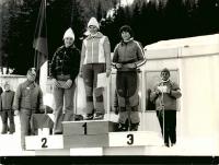 3. místo Olgy Charvátové na mistrovství ČSSR 1977