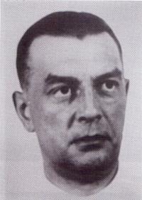 Portrét vedoucího pardubického gestapa Gergarda Clagese
